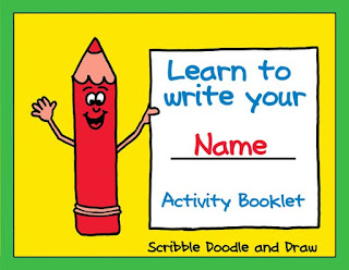 Practice worksheets for students learning to print their name