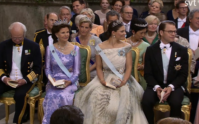Now Let S Take A Look At Actual Wedding Crown Princess Victoria Was Very Moved Even Before The Ceremony Began She Must Be Close With Her Brother