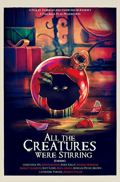 All the Creatures Were Stirring 2018 Shudder horror movie poster