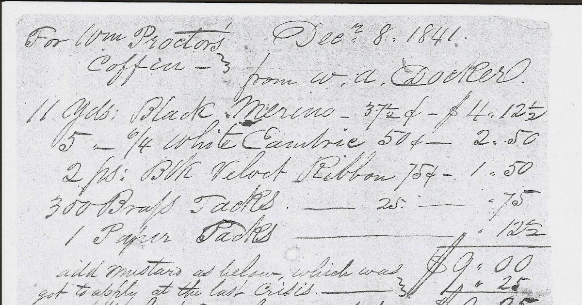 Kentucky Genealogy: WILLIAM PROCTOR 1796-1841
