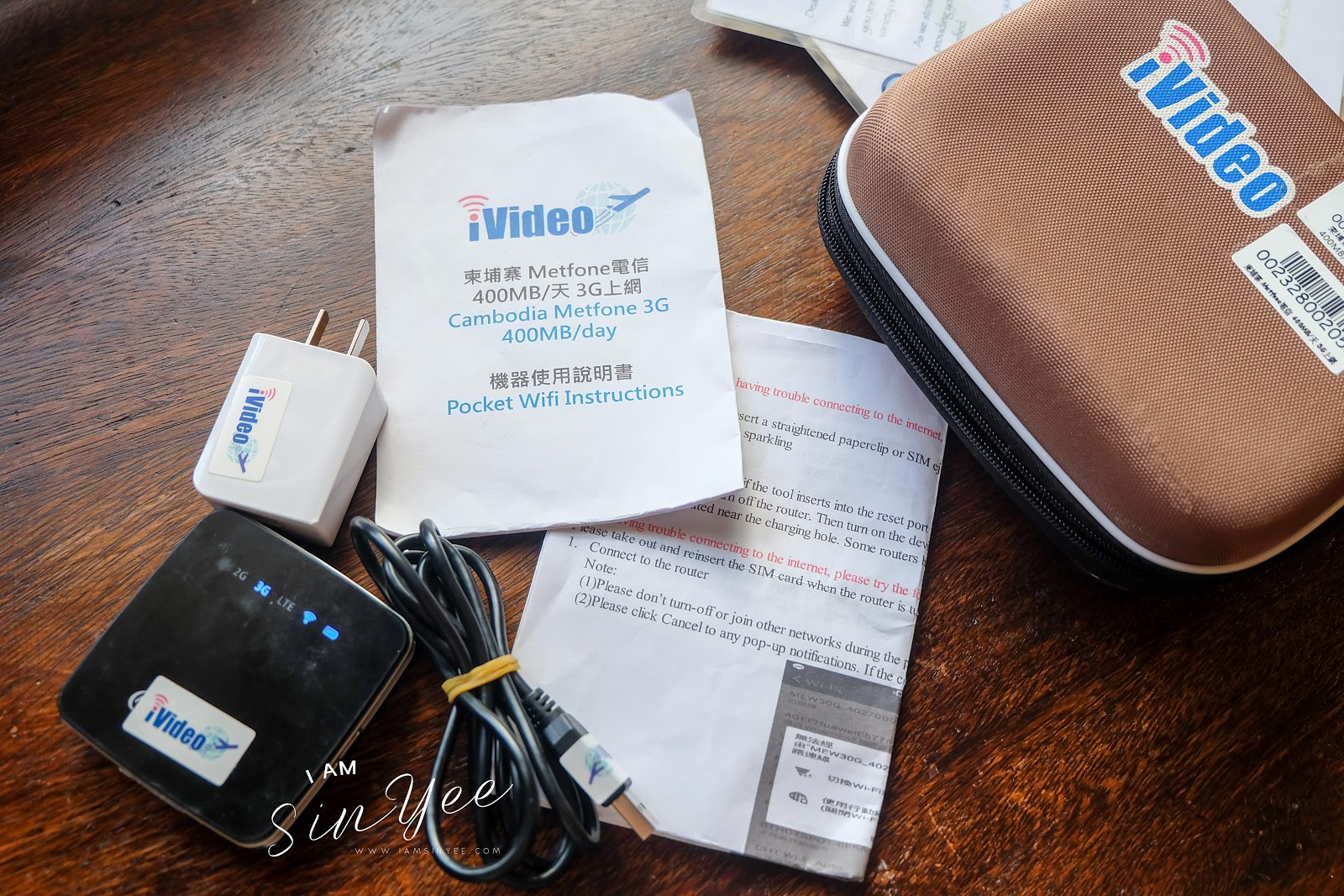Stay Connected When Apart~ iVideo Pocket Wifi, Anywhere