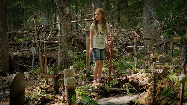 a young girl doesn't want to be buried in a pet sematary