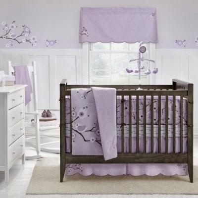 Χρώμα για παιδικό δωμάτιο-μοβ