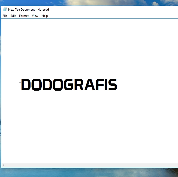 how to change font in html notepad