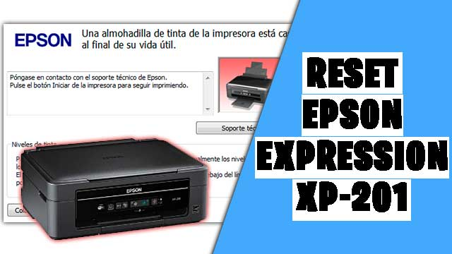 resetear impresora EPSON Expression XP-201