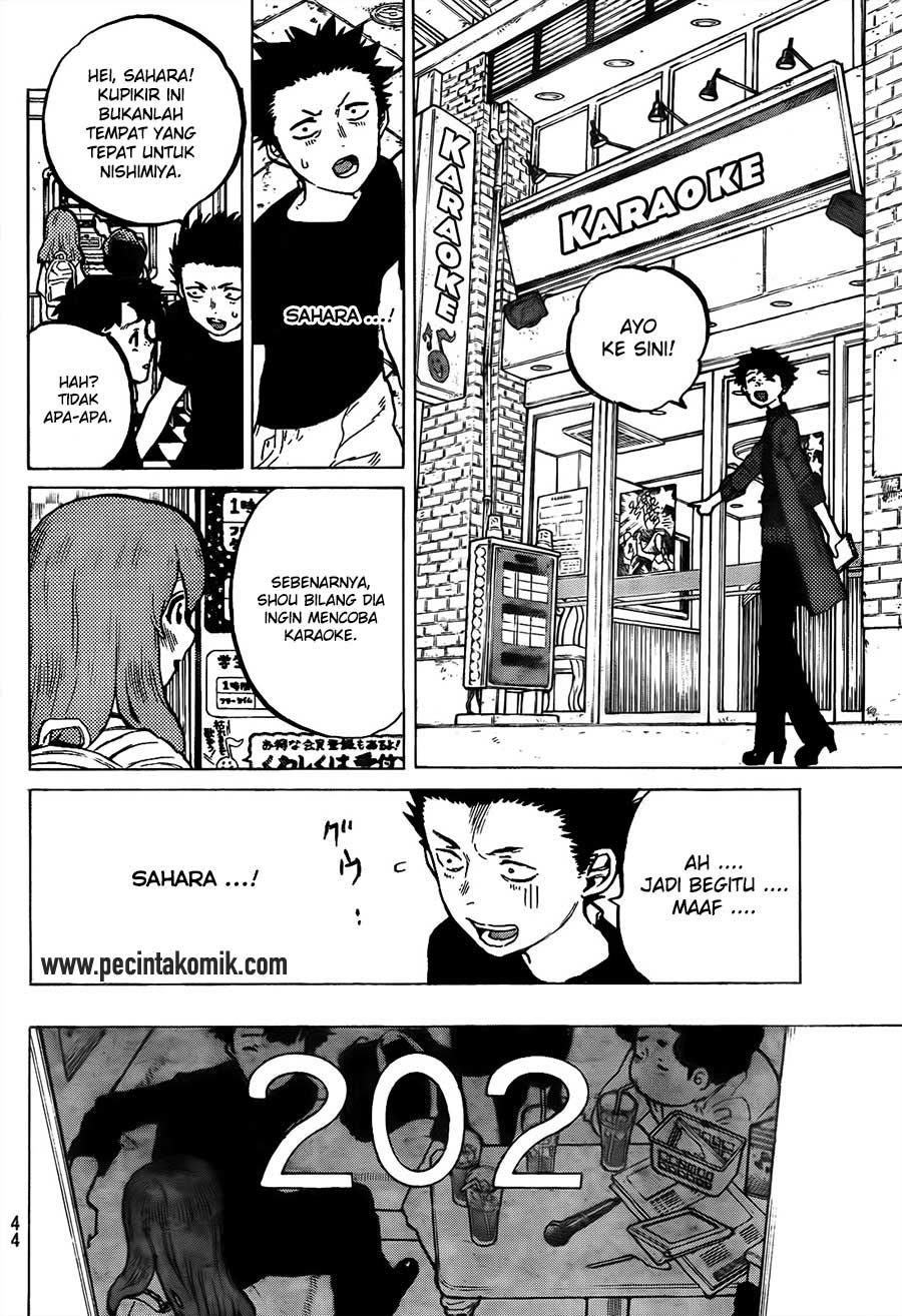 Koe no Katachi Chapter 17-9