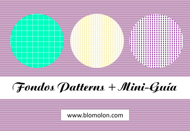 fondos patterns + mini guia