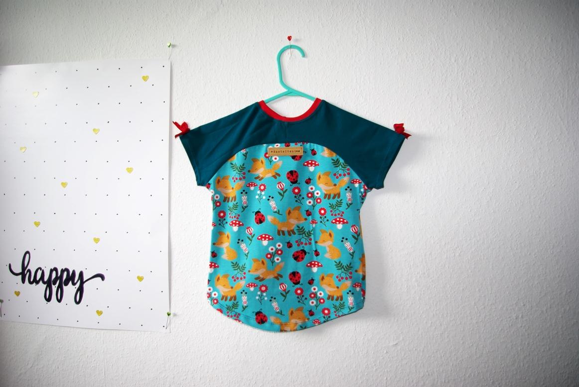 Bethioua Mini von Ellepuls Freebook T-Shirt für Kinder selber nähen Nähblog