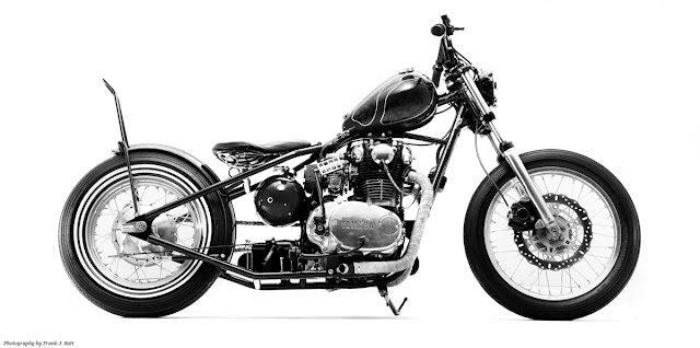Motorcycle Photography by Frank J. Bott: 1978 XS 650 by Roy