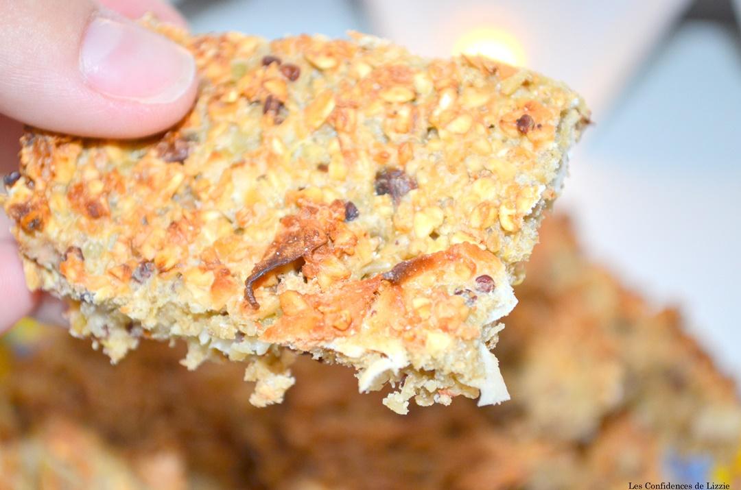 barres cereales - noix de coco - grué de chocolat - flocons d avoine - quinoa