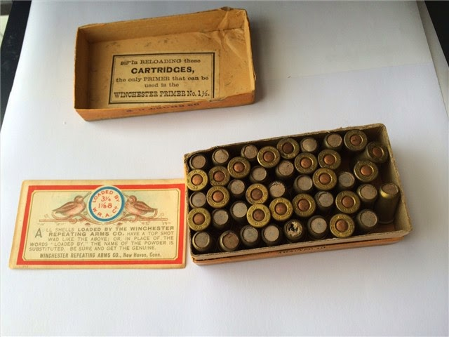 Win. 32 Cal Short Shot Cartridges Center Fire