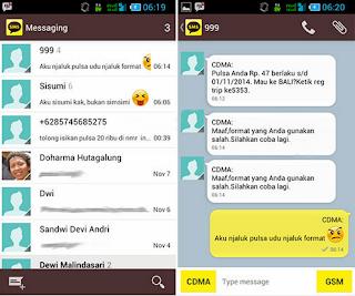 HP TIDAK BISA MENERIMA DAN KIRIM SMS