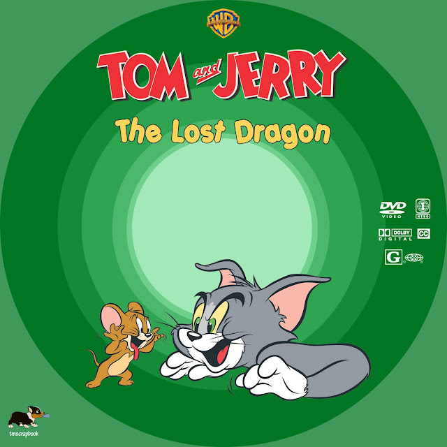 Tom and Jerry: The Lost Dragon DVD Label