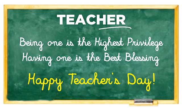 Top #10 Teachers Day 2017 Quotes To Honor Teachers : Best And Inspirational Quotation