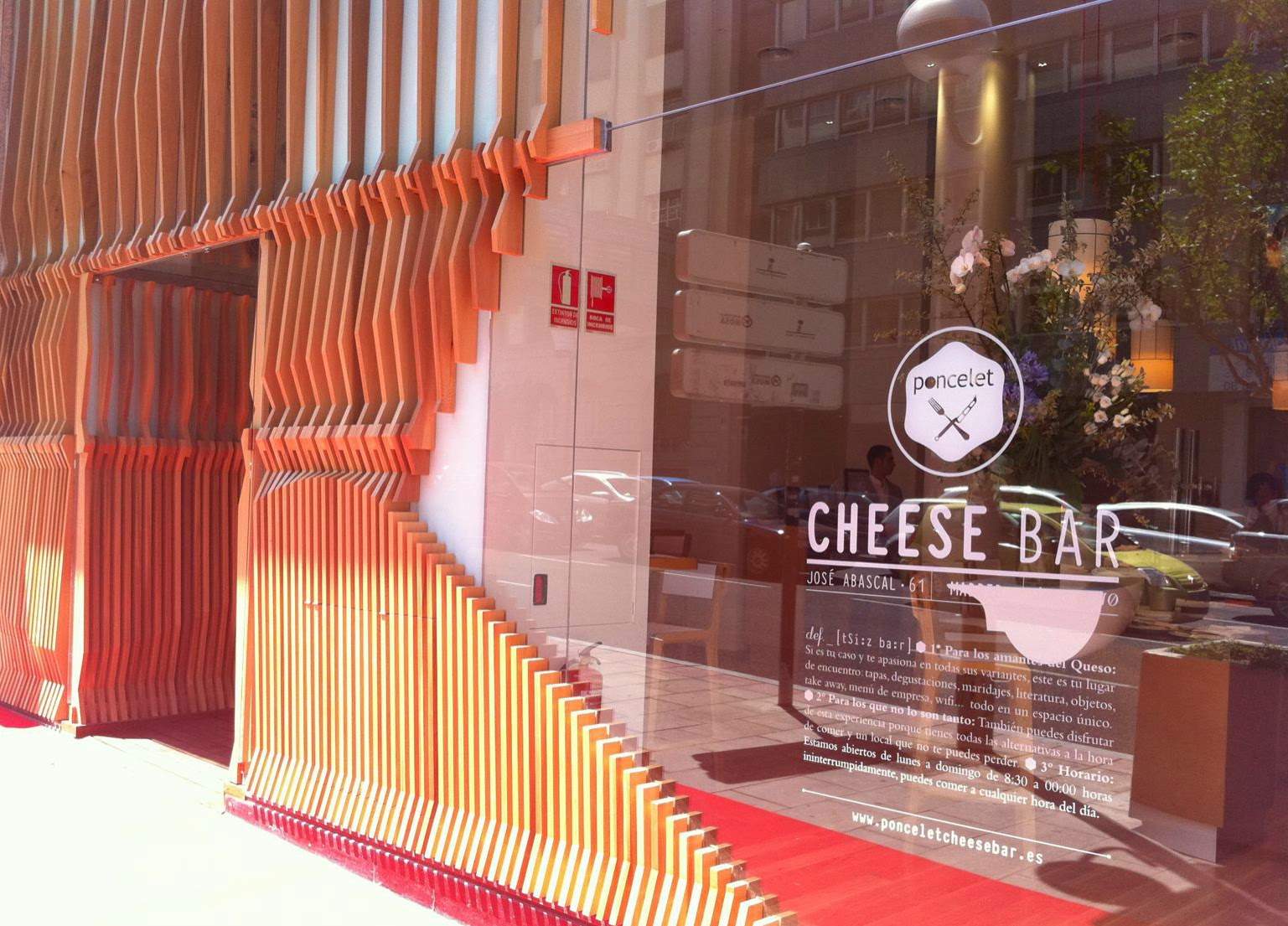 cheese bar poncelet gastrobar del queso