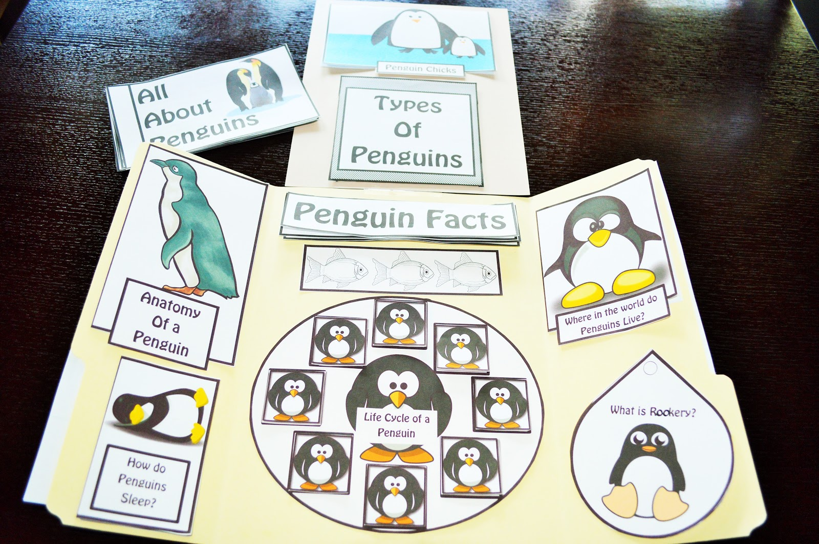 The Hermit Crabs Homeschool All About Penguins Unit