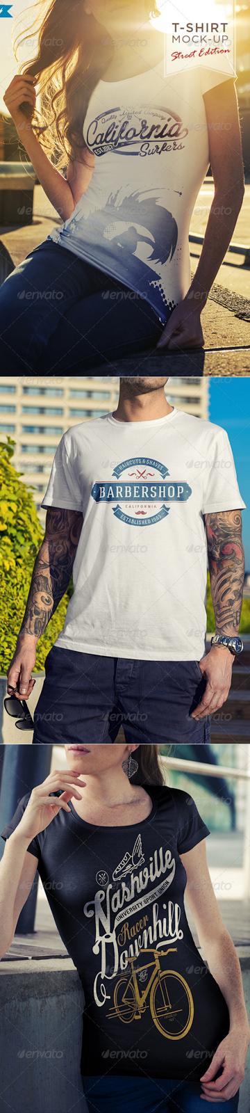 15. T-Shirt Mockup Street Edition