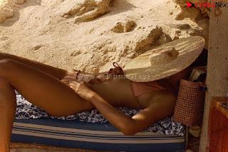 Merrylin Boro in relaxing in bikini  ~ .xyz Exclusive Celebrity Pics 013.jpg