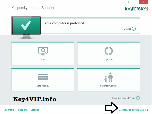 Kaspersky Internet Security 2015 (15.0.0.463) + Key + Trial Reset mới nhất.