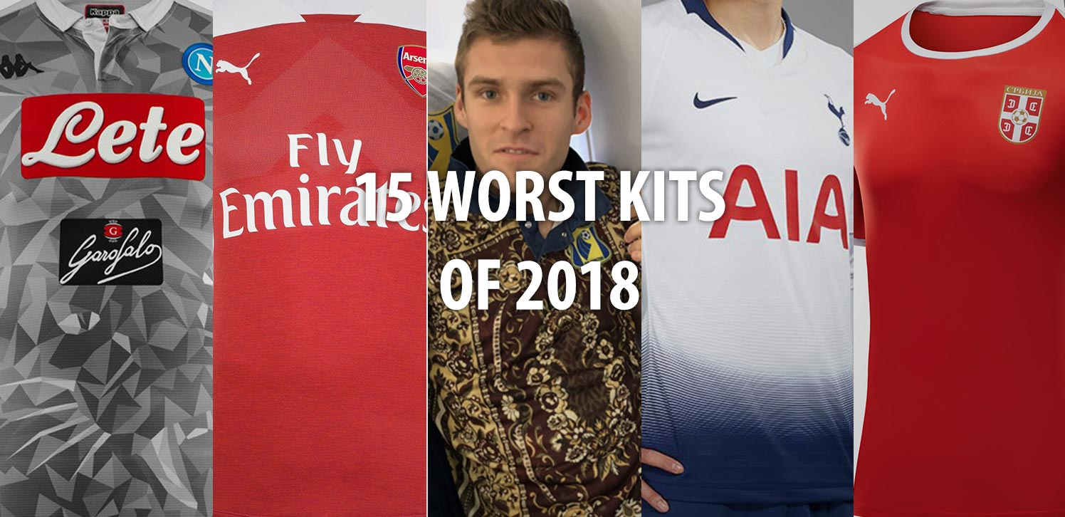 Our list of the worst soccer jerseys of the year includes shirts from all  well-known manufacturers and kits both from club and national teams. b1dd52fe4