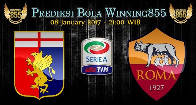 Prediksi Skor Genoa vs AS Roma