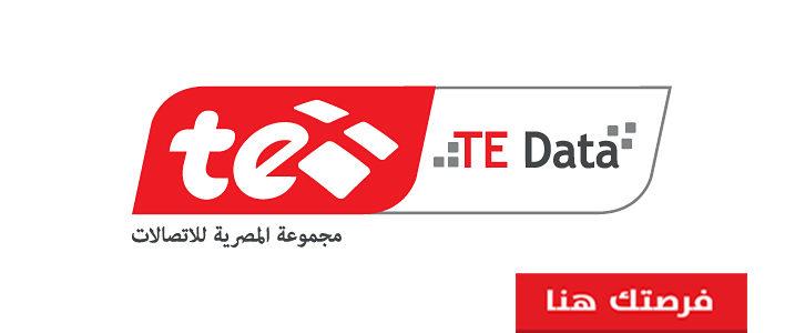 مطلوب محاسبين للعمل فى الشركة المصرية TE DATA فى مصر 2020