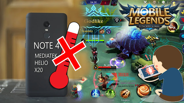 Ingin Bisa Lancar Anti LAG Main Game Moba Mobile Legend, AOP di Xiaomi Redmi Note 4 MTK? Coba Tutorial Thermal Enginel Solution Berikut Ini