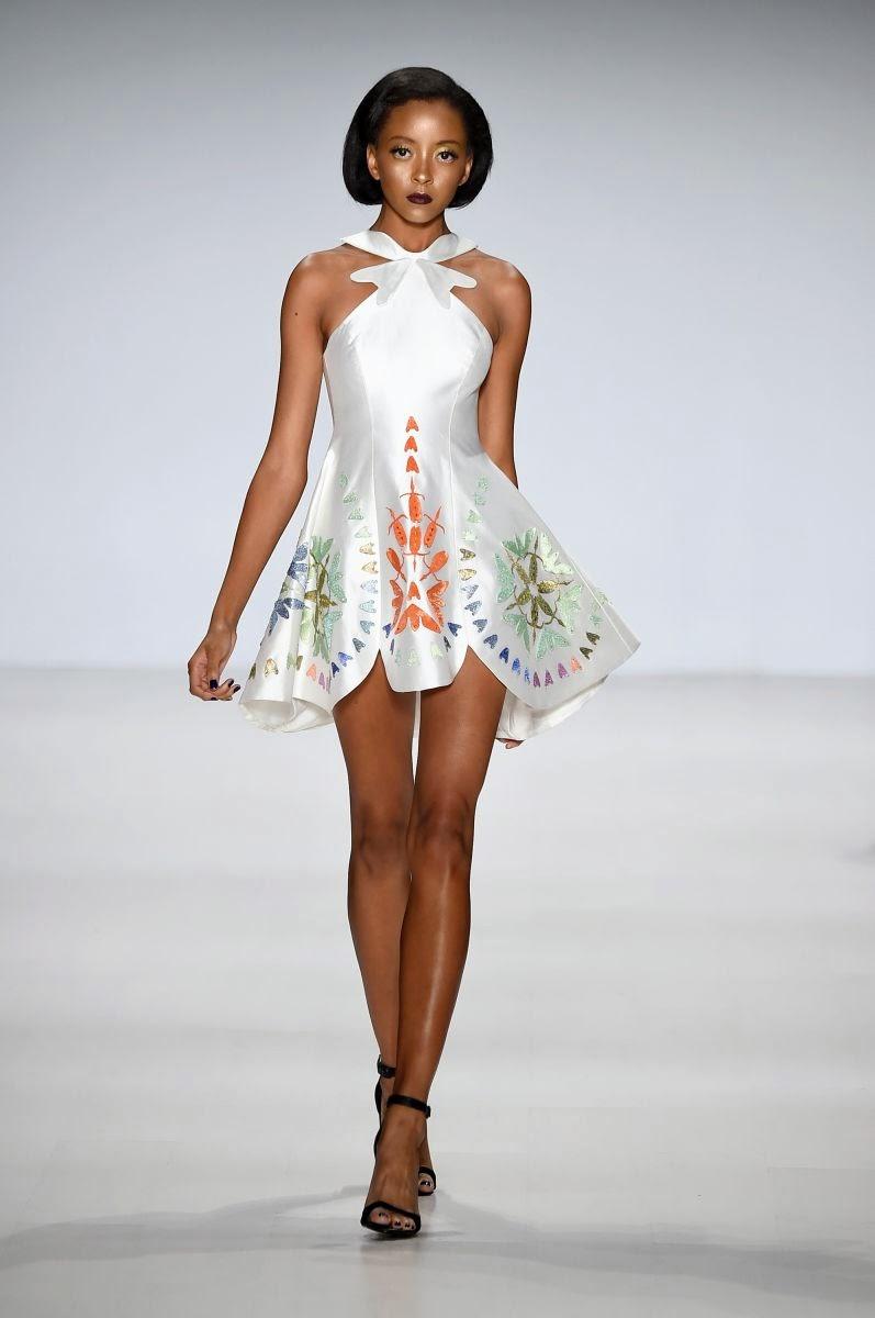 Africa S Leading Fashion Designers Deola Sagoe David Tlale Rock New York Fashion Week 2014 Waafrika Online