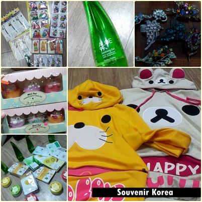 souvenir dari korea