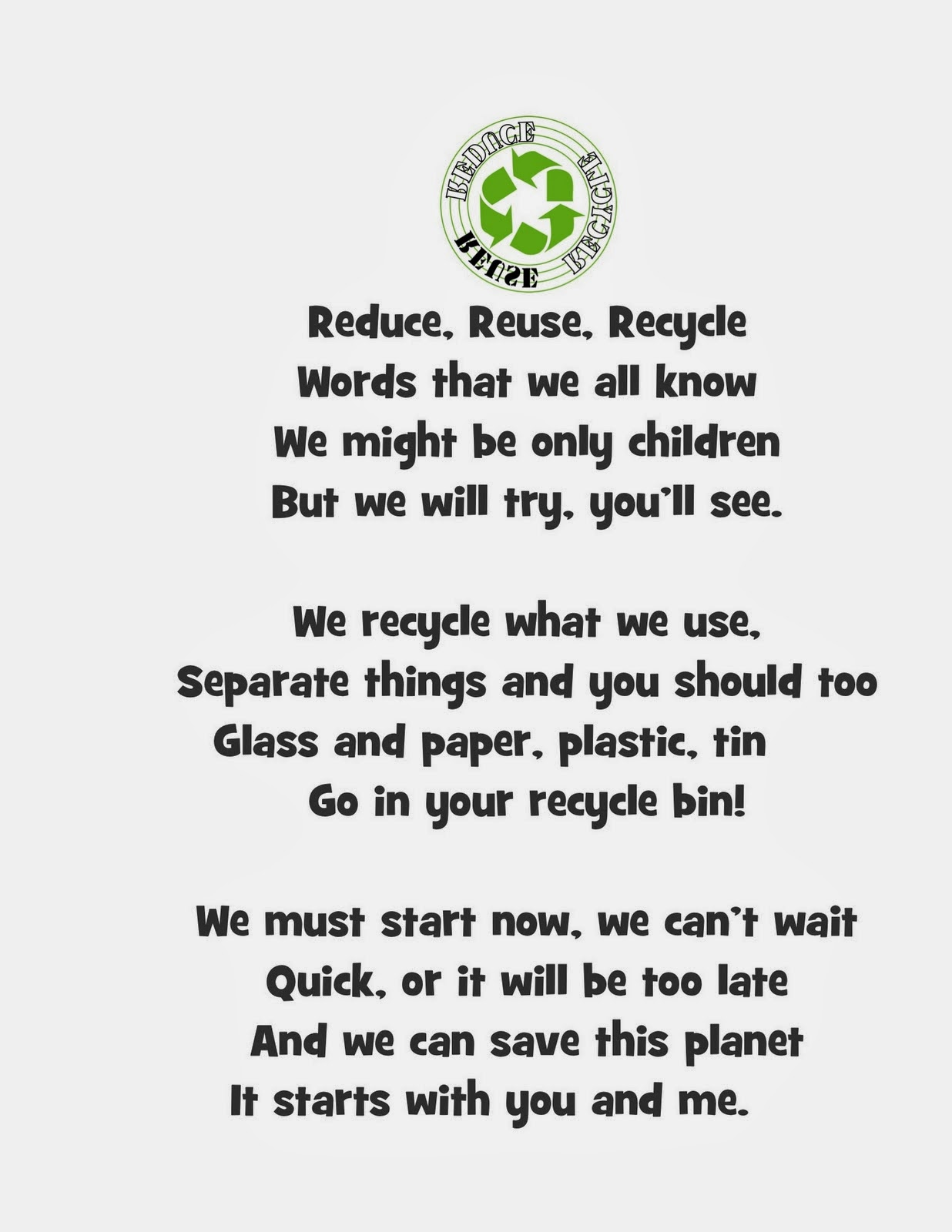 Foreign Language Teachers : Recycling Poem and Songs