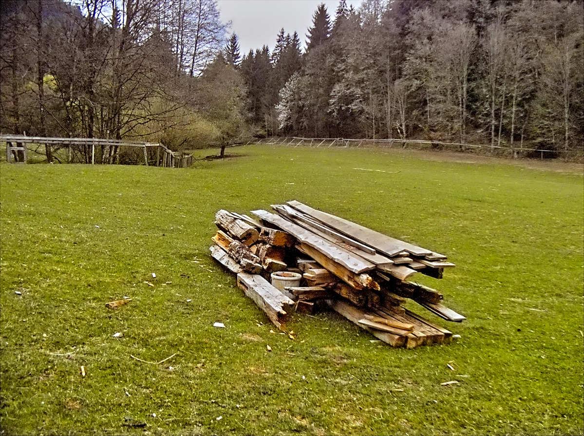 Polaroid X530 Foveon – Schiefe Hütte ist verschwunden