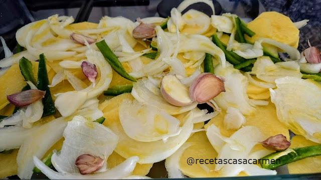 Truchas al horno aromatizadas con romero