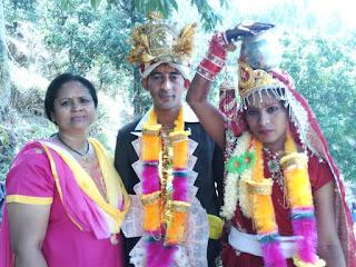 गाँव में शादी-ब्याह की रंगत