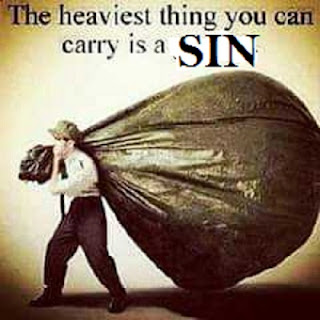 the heaviness of sin
