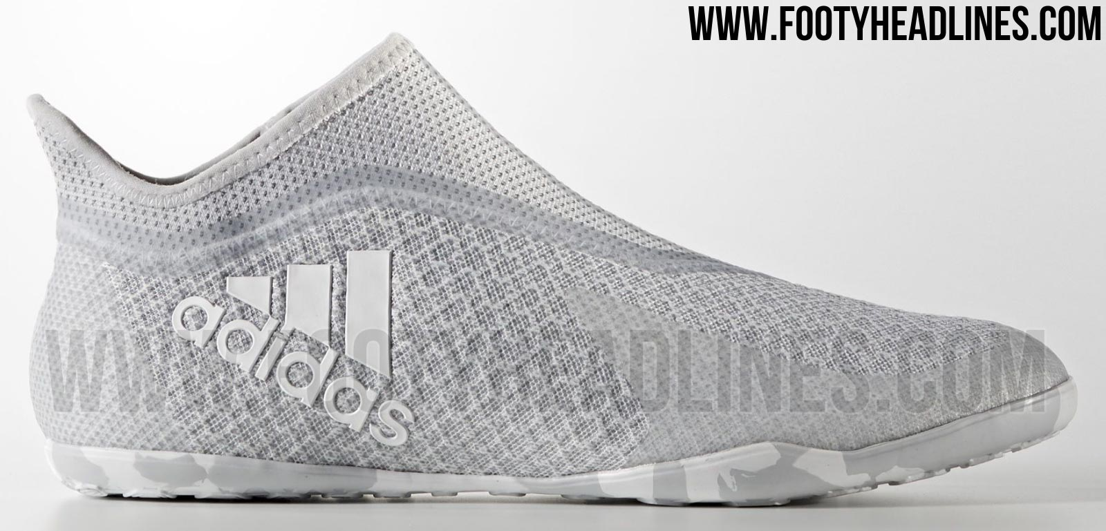 bf2c35799 Discount First-Ever (Truly) Laceless Adidas X Boots Released