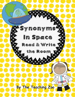 https://www.teacherspayteachers.com/Product/Synonyms-in-Space-Read-Write-the-Room-973828