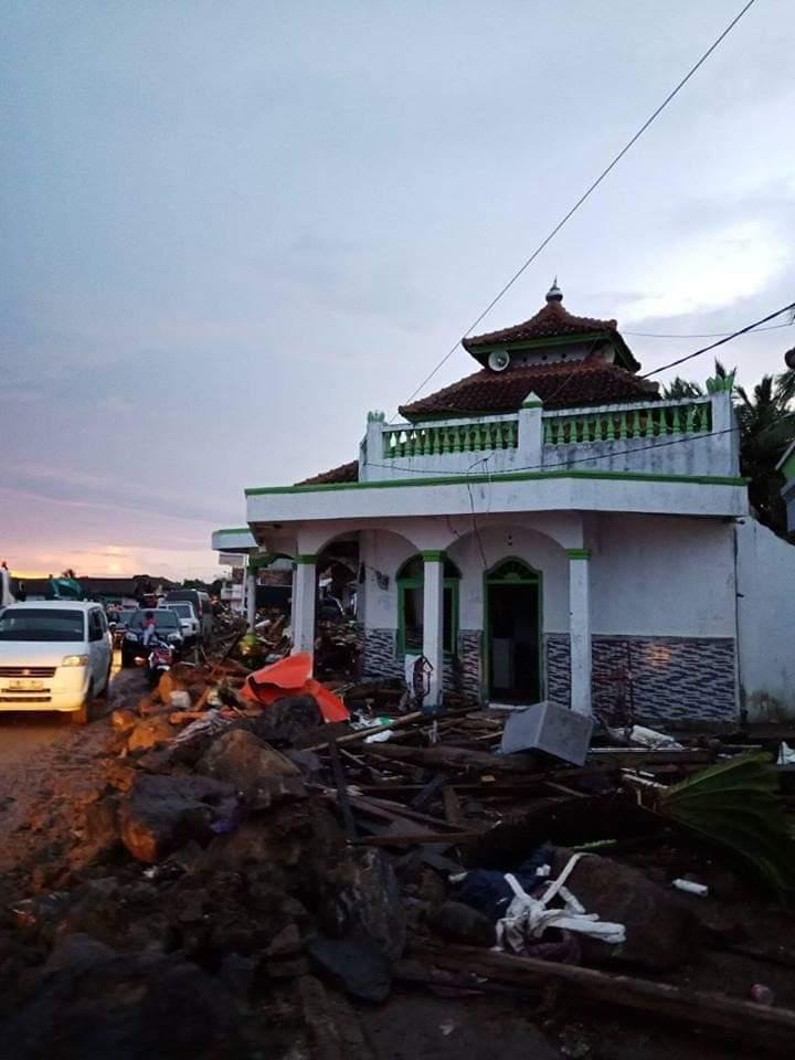 Semua Fokus di Banten, Ini Keajaiban Allah di Lampung Selatan Setelah Tsunami Selat Sunda