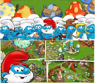 تحميل لعبة قرية السنافر 2018 Smurfs' Village اخر اصدار مجانا