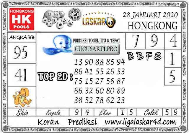Prediksi Togel HONGKONG LASKAR4d 28 JANUARI 2020