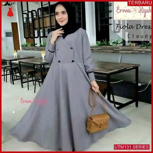 UTM131F69 Baju Fiola Muslim Dress UTM131F69 083 | Terbaru BMGShop