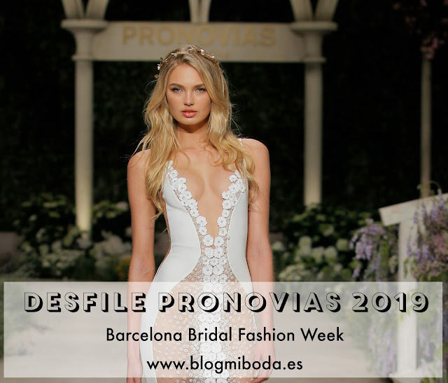 desfile pronovias 2019 barcelona bridal week