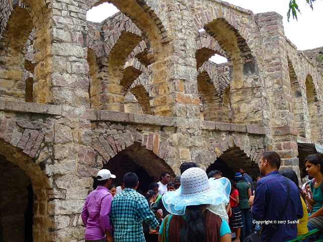 Stone Architecture, Golkonda Fort, Hyderabad