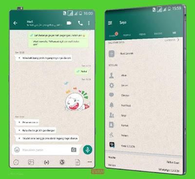 WhatsApp Mod BBM v3.3.3.39 Apk terbaru