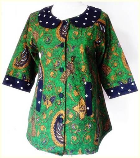 Baju Batik Modern Untuk Orang Tua: Update Model Baju Batik Untuk Wanita Terbaru