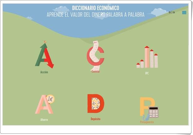 """""""Diccionario económico"""" (Aplicación interactiva)"""