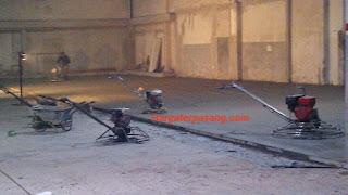 Jasa trowel lantai beton .floor hardener.cor beton.mas wulung trowel lantai.