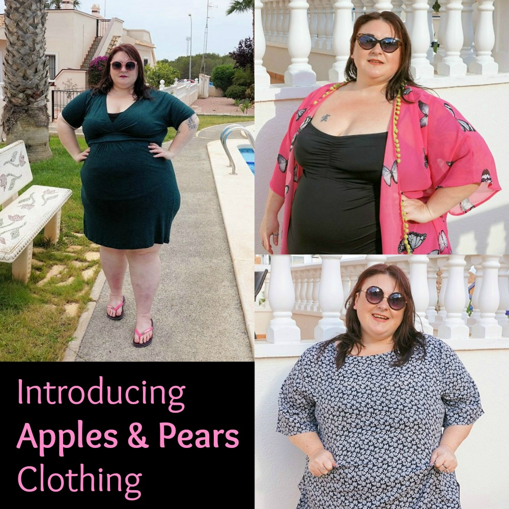 Apples and pears plus size ladies clothing plus size holiday wear