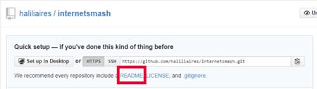 GitHub readme.md