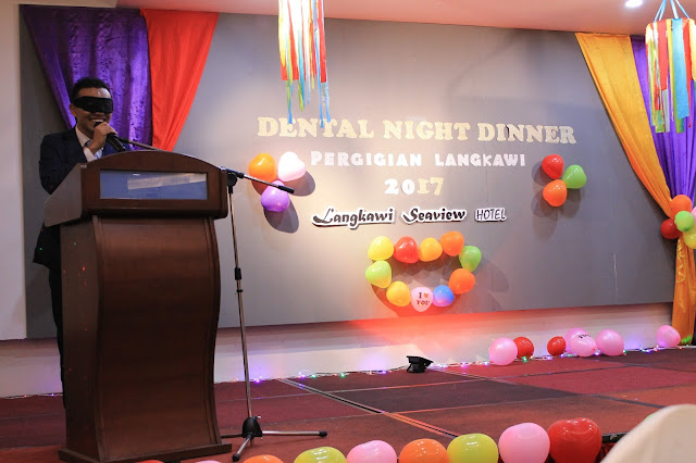 Dental Night Dinner Pergigian Langkawi 2017 di Hotel Seaview, Langkawi