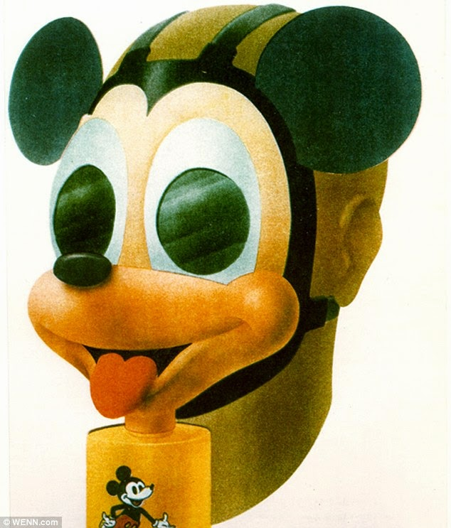 Mickey Mouse Gas Masks For Children From World War Ii